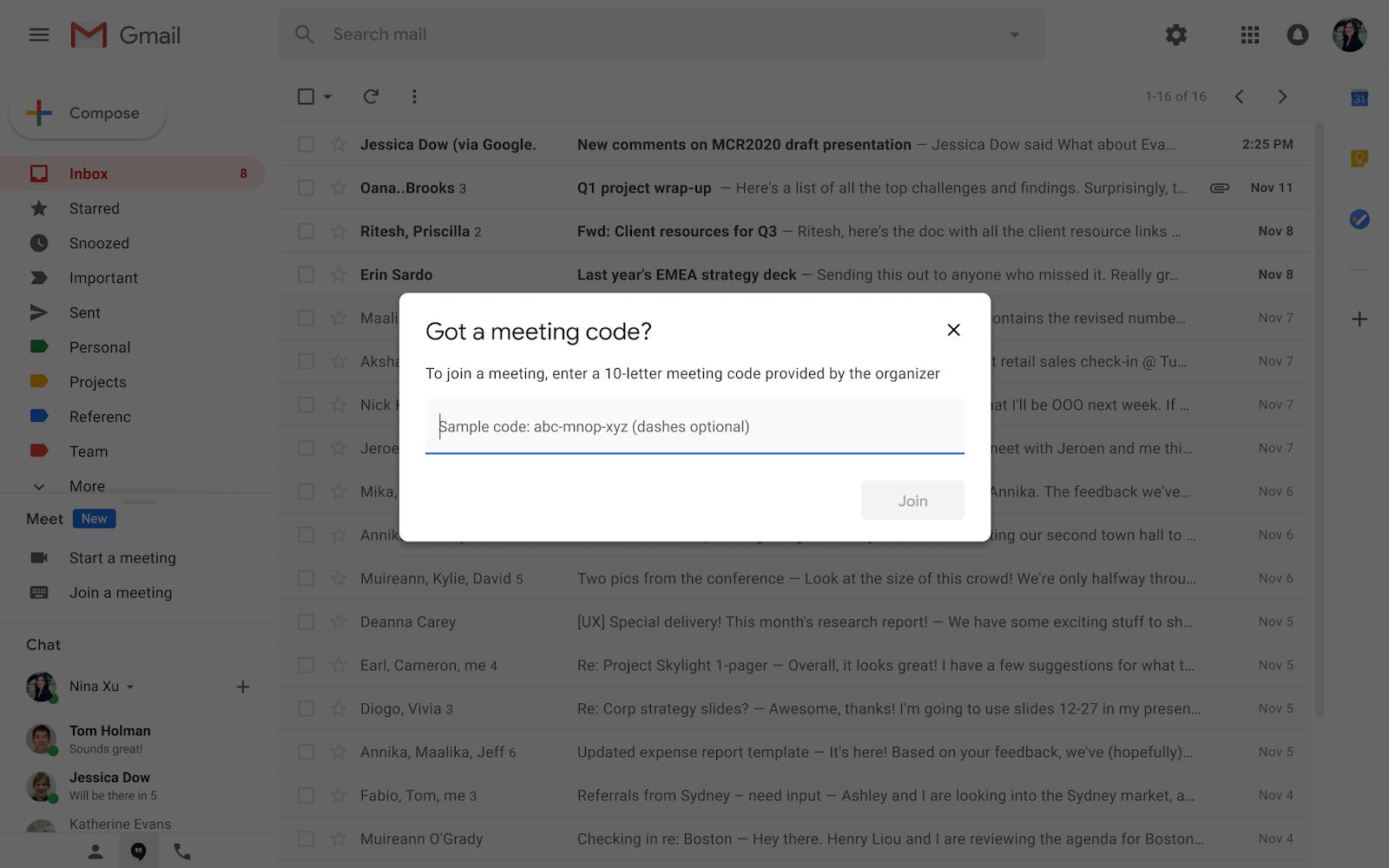 G Suite Updates Blog Start Or Join A Google Meet Video Meeting