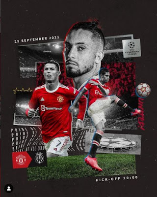 Link Live Streaming Manchester United vs Villareal Liga Champions 2021 Nonton MU Man Utd Disiarkan Dimana SCTV, Bein Sport Vidio Online