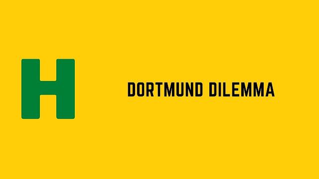 HackerRank Dortmund Dilemma problem solution