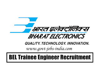 BEL Trainee Engineer Recruitment