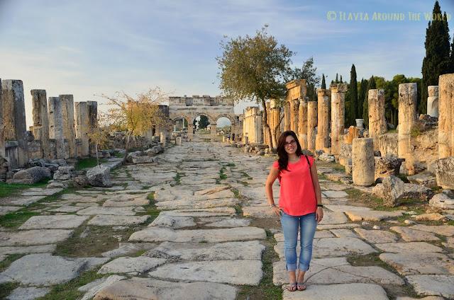 La vía Frontinus Hierápolis