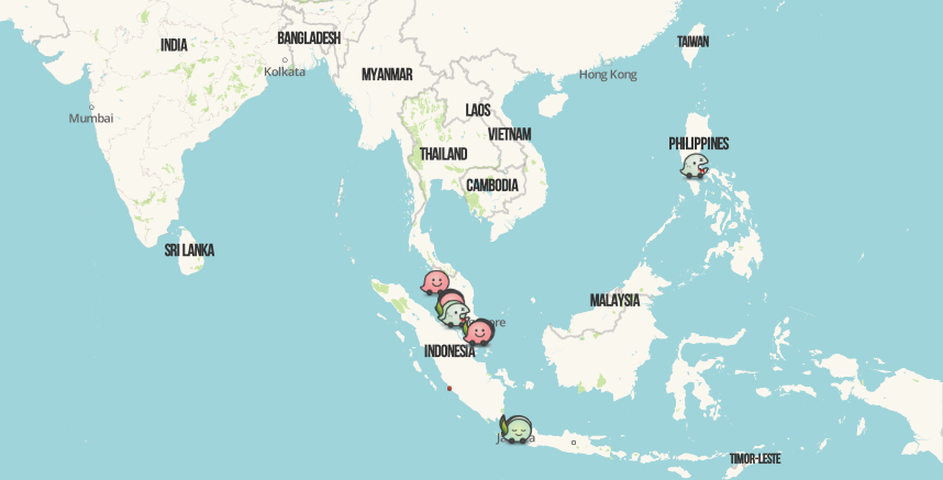 How many Waze users in Malaysia? | Silver Mouse