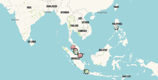 Waze Live Map in Southeast Asia