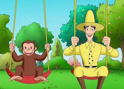 curious george monyet yang terkenal di dunia