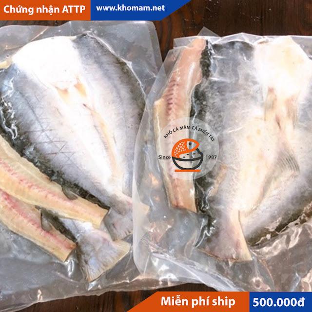 Khô cá tra bao nhiêu 1kg?