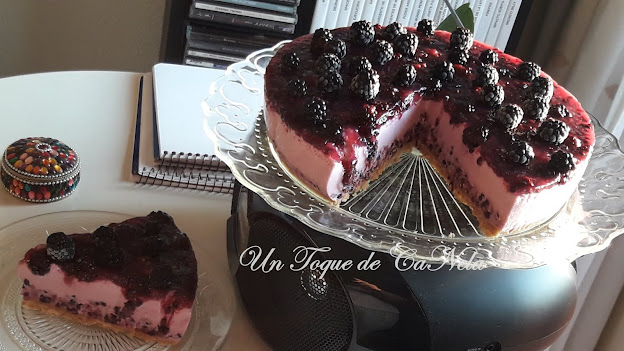 Tarta Mousse De Zarzamoras