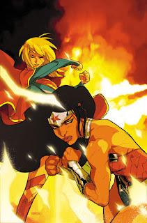 """Le mois d'avril verra DC comics nous proposer un nouveau cross-over entre  les titres Superman. """"Super League"""" sera une histoire en 8 parties, qui débutera dans Superman #51 et finira avec Superman #52. Les 8 chapitres seront tous écrits par Peter J. Tomasi et dessinés par plusieurs artistes tels que Mikel Janin, Doug Mahnke ou encore Tyler Kirkham. Voici le planning de l'event avec les premières images de Superman #51.  Superman #51:     Batman/Superman #31:     Action Comics #51:     Superman/Wonder Woman #28:     Batman/Superman #32:     Action Comics #52:     Superman/Wonder Woman #29:      Superman #52:     Et les voici les premieres planches de Mikel Janin pour Superman #51:"""