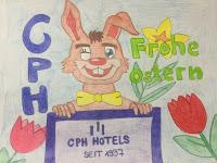 ostermotiv gemalt osterhase cph hotels frohe ostern