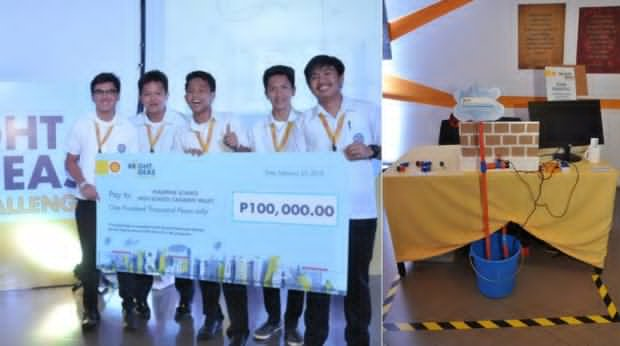 PSHS Students win in The Bright Ideas Challenge