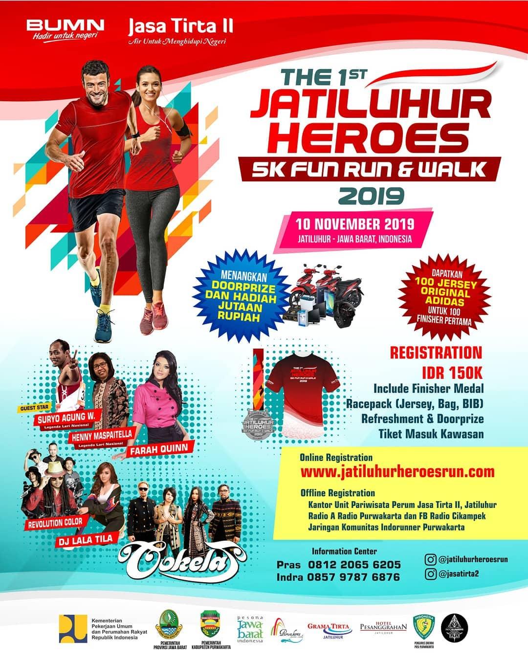 Jatiluhur Heroes Run • 2019