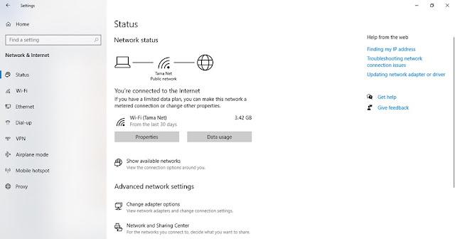 penyebab laptop tidak konek wifi