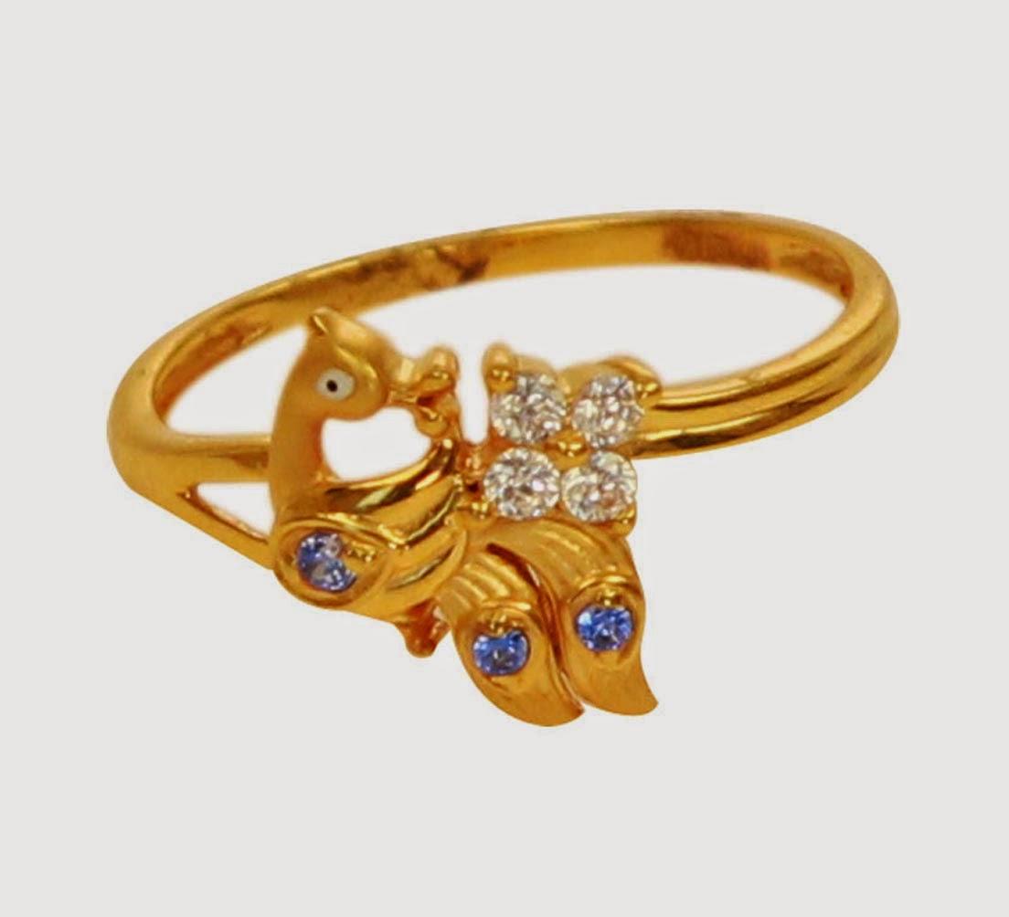 Malar World Kerala Jewellery Ring Models