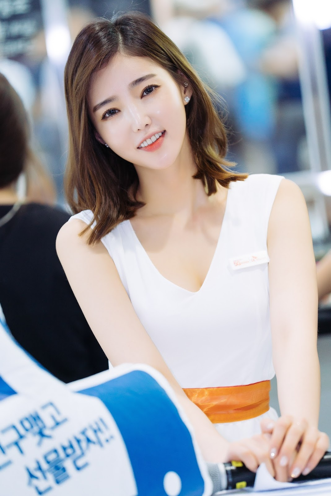 Model Kim Bo Ra in World IT Show 2017