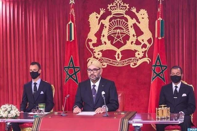 الخطاب الكامل لصاحب الجلالة الملك محمد السادس نصره الله بمناسبة الذكرى الـ67 لثورة الملك والشعب - 2020
