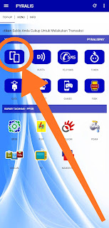 cara transaksi pulsa di PYRALISPAY www.pyralis.id