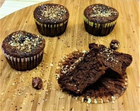 Flourless Chocolate Hazelnut Butter Muffins (Paleo, Gluten-Free, Whole30, Refined Sugar-Free, Dairy-Free, Vegan).jpg
