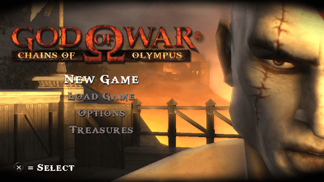 main god of war chains of olympus di pc pakai ppsspp