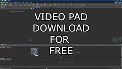 VideoPad editor free download