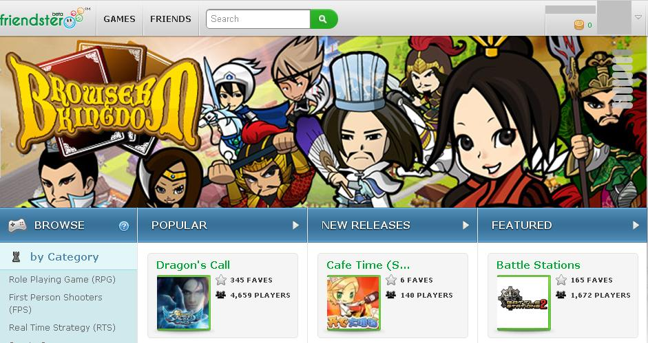 Friendster How are you?  Friendsters New Look