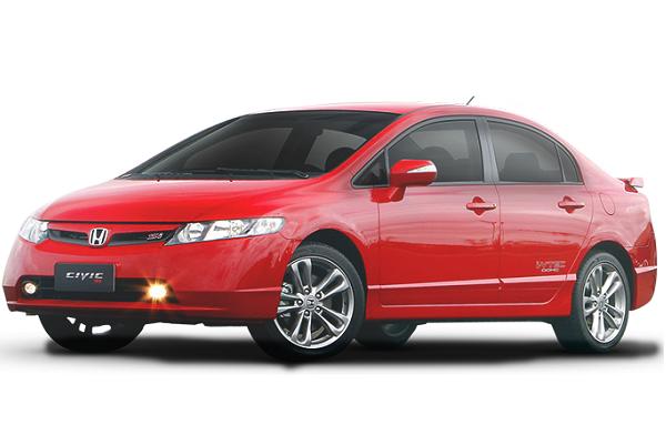 Ficha Técnica Honda Civic Si (2007)