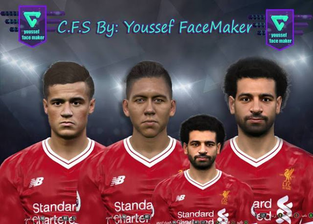 Liverpool Facepack PES 2017