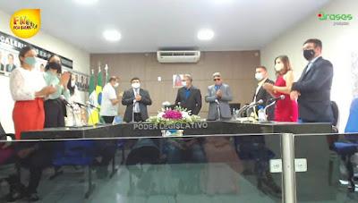 Por unanimidade, Vereador Dinis foi eleito presidente da Câmara