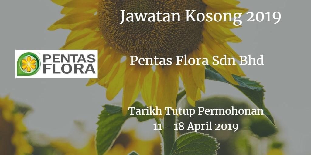 Jawatan Kosong Pentas Flora Sdn Bhd 11 - 18 April 2019