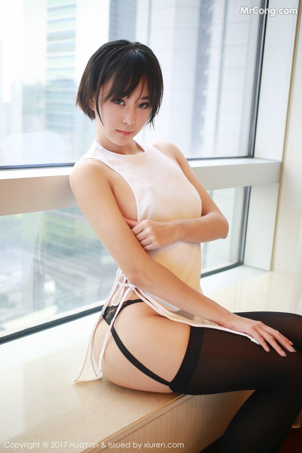 Image HuaYan-Vol.042-Yi-Lei-MrCong.com-009 in post HuaYan Vol.042: Người mẫu Yi Lei (艺蕾) (48 ảnh)