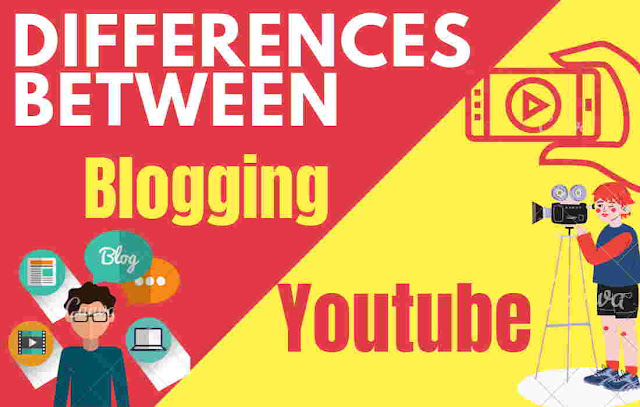 Difference Between Blogging and Vlogging (Youtube)