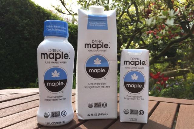 Coconut water vs maple water