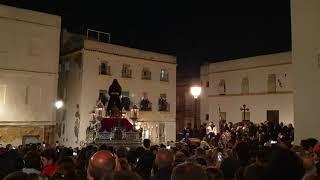 Padre Jesús Cautivo (Medinaceli) por la Plaza Fray Félix. Semana Santa Cádiz 2019