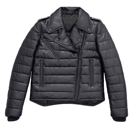 Alexander Wang x H&M Collection leather jacket