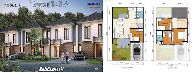 layout l7 avezza the mozia bsd city