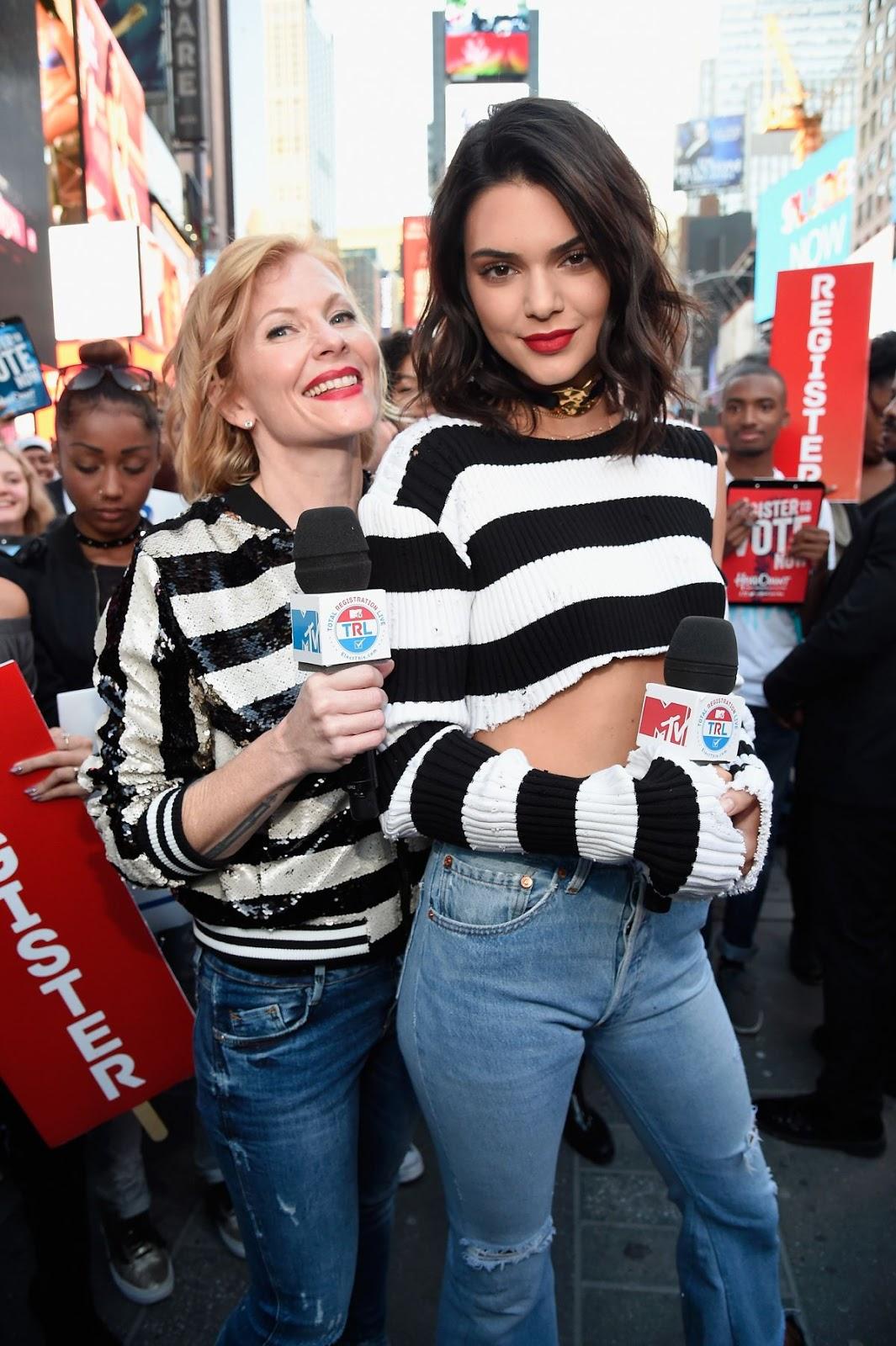 Kendall Jenner at MTV Total Registration Live