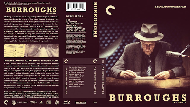 Burroughs Bluray Cover
