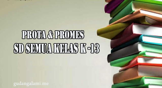 Contoh Prota dan Promes SD Kurikulum 2013 Revisi Terbaru