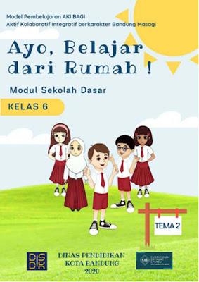 Modul Belajar Dari Rumah (BDR) Tema 2 Untuk SD/MI Kelas 1 - 6