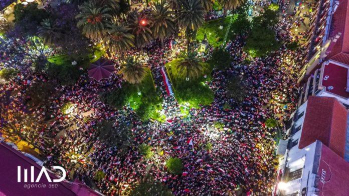 Multitud reunida en Tarija se sumó a las voces del federalismo / AGENCIA 360