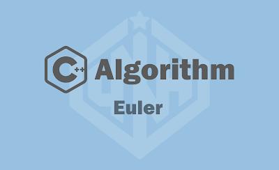 Thuật Toán Tìm Chu Trình Euler Trong Đồ Thị Vô Hướng
