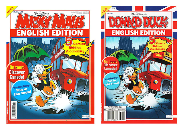 Mickey Maus / Donald Duck & Co English Edition