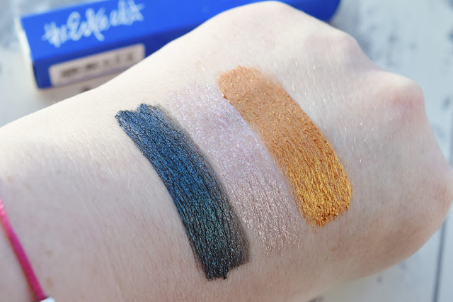 The Estee Edit Fluid Metal Eyeshadow Swatches