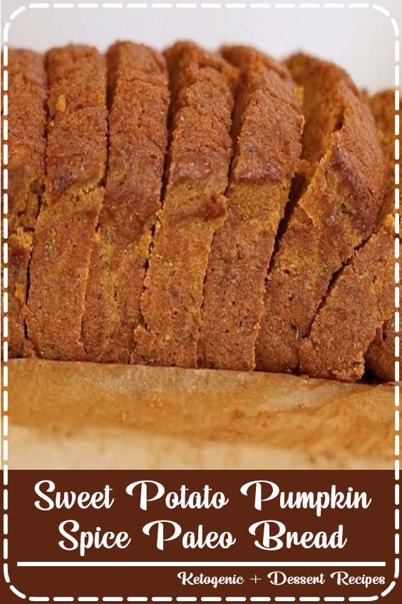 This sweet potato bread is like thanksgiving in a loaf pan Sweet Potato Pumpkin Spice Paleo Bread