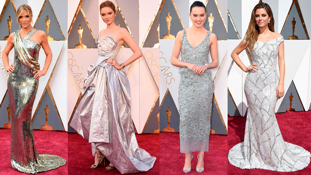 Oscars 2016 all red carpet dresses aga 39 s suitcase moda lifestyle travel - Silver red carpet dresses ...