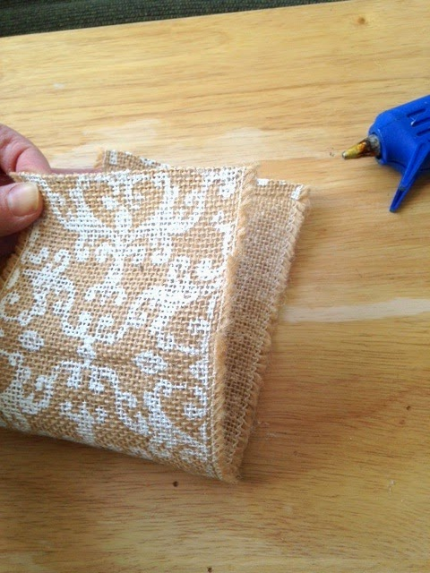Sew Many Ways...: No Sew Burlap Silverware Place Setting ...