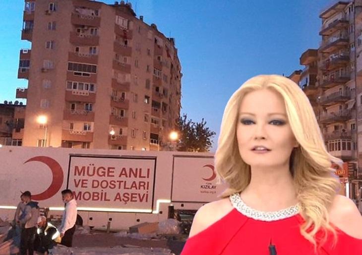 Müge Anlı, İzmir'deki depremzedeler için Mobil Aşevi gönderdi!
