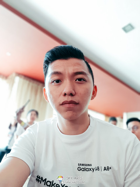 Photo taken using Samsung Galaxy A8 (2018) 16MP +8MP F1.9 Front Camera