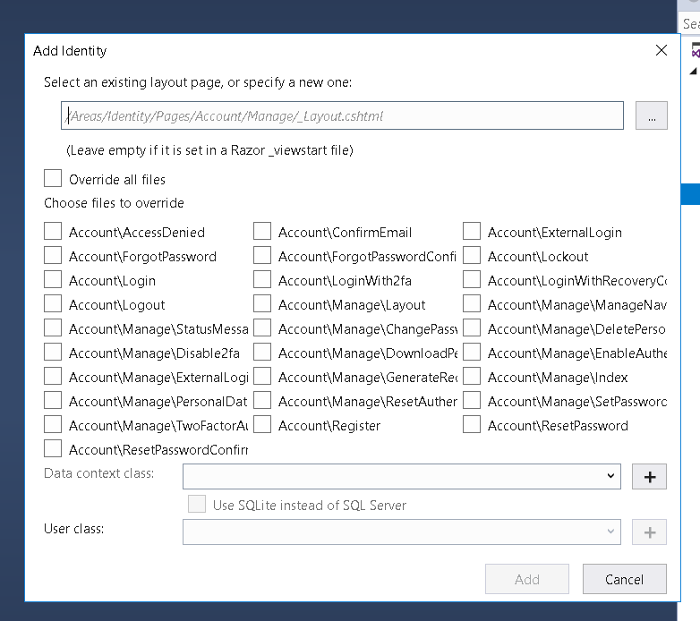 Customizing ASP NET Core 2 1 Identity UI and Database Tables