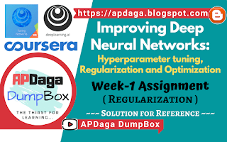 Improving Deep Neural Networks Week-1 Regularization