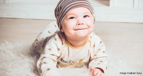 meja makan bayi