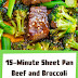 15-Minute Sheet Pan Beef and Broccoli Recipe